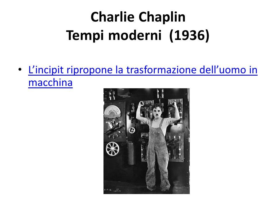 Charlie Chaplin Tempi moderni (1936)