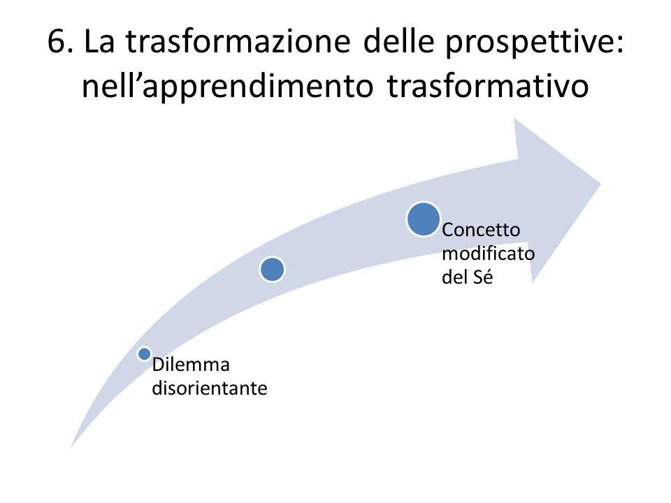 6. La trasformazione delle prospettive: nell'apprendimento trasformativo