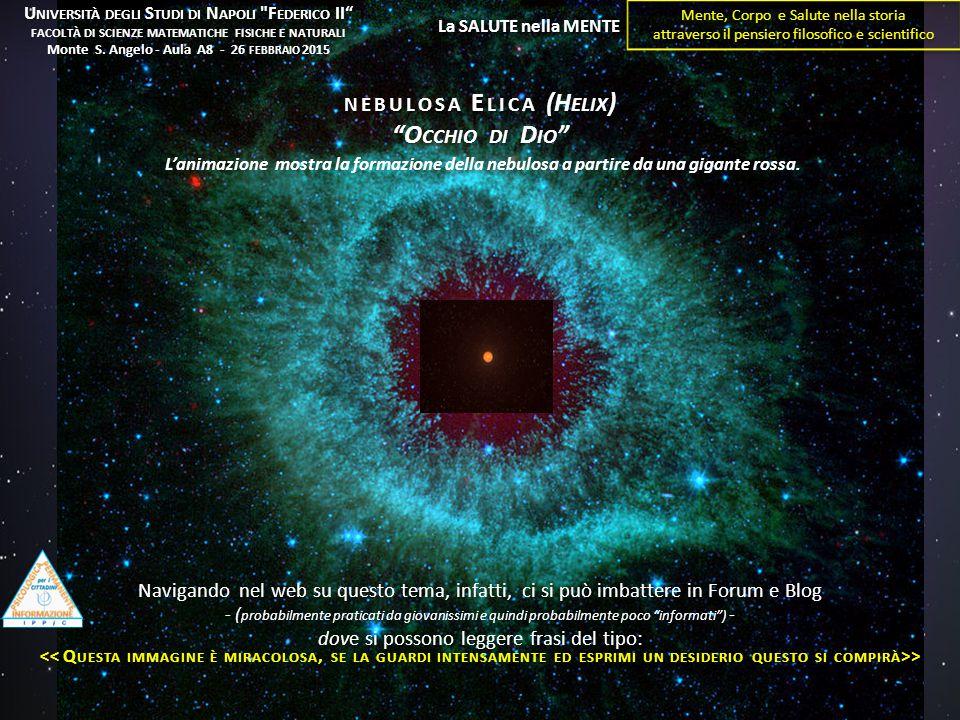 nebulosa Elica (Helix) Occhio di Dio