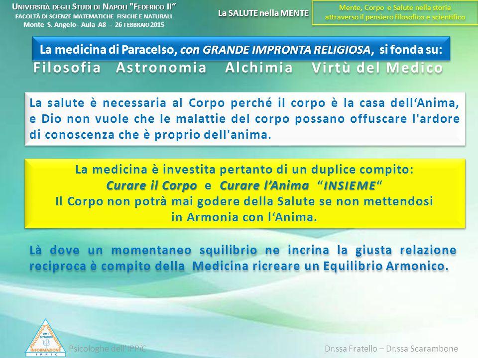 Filosofia Astronomia Alchimia Virtù del Medico