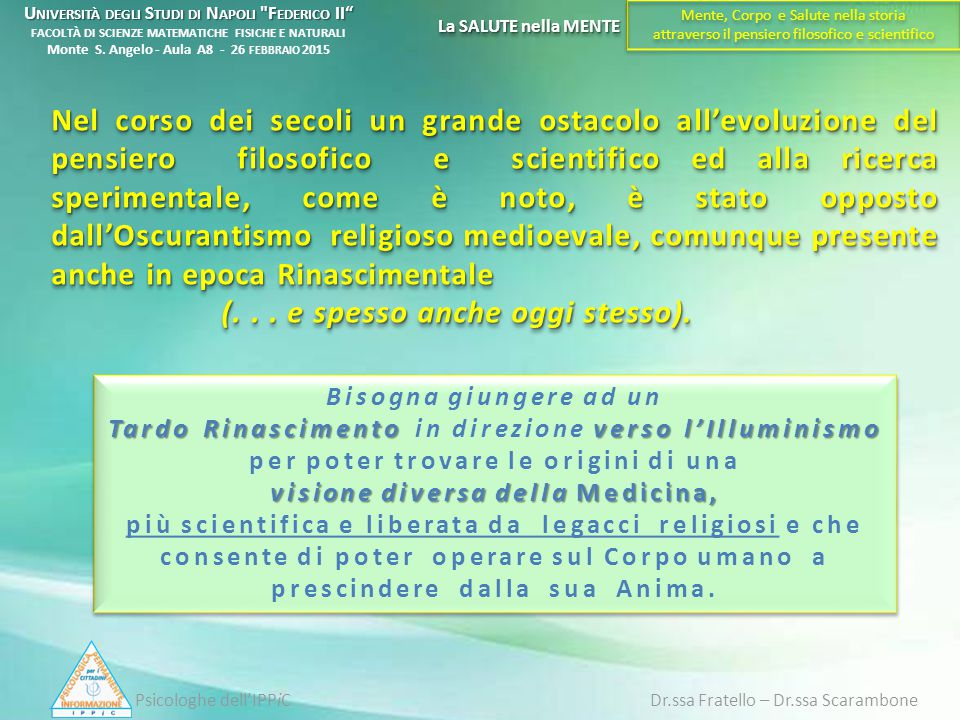 Psicologhe dell'IPPiC Dr.ssa Fratello – Dr.ssa Scarambone