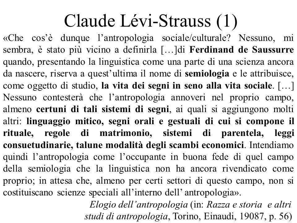 Claude Lévi-Strauss (1)