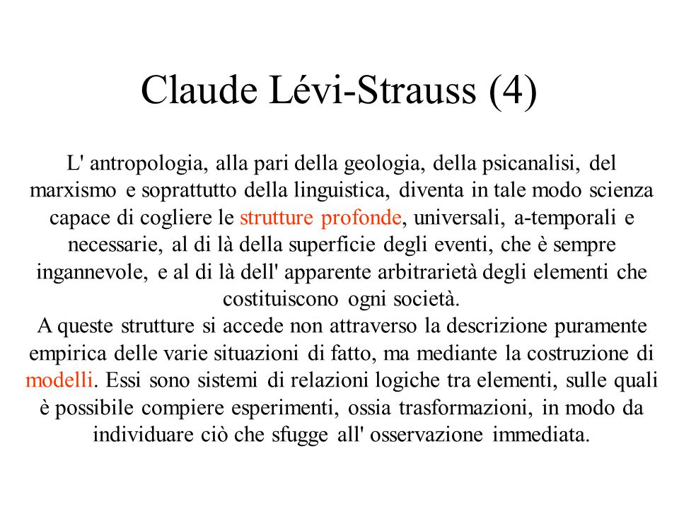 Claude Lévi-Strauss (4)
