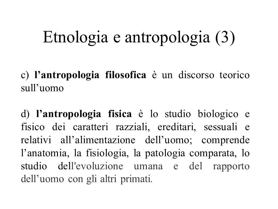 Etnologia e antropologia (3)