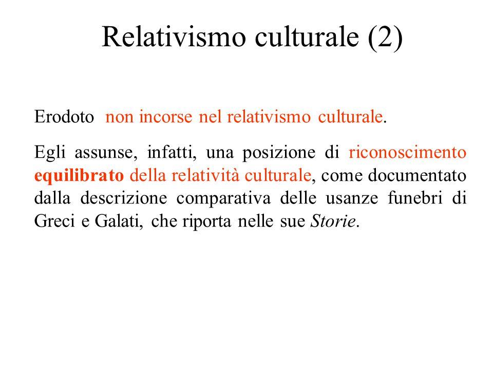 Relativismo culturale (2)