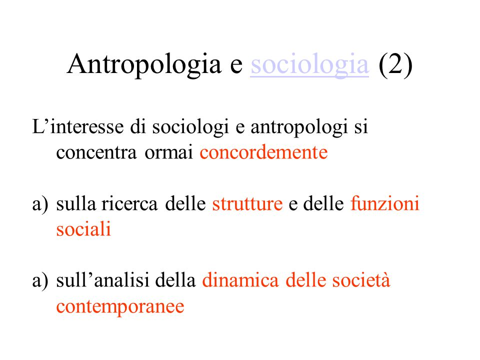 Antropologia e sociologia (2)