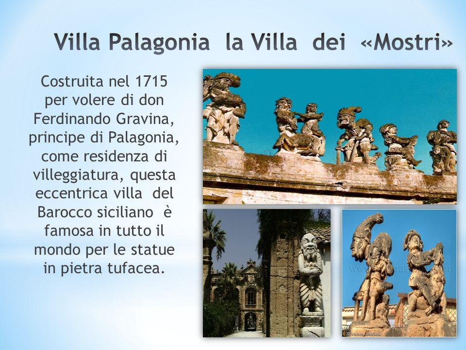 Villa Palagonia la Villa dei «Mostri»
