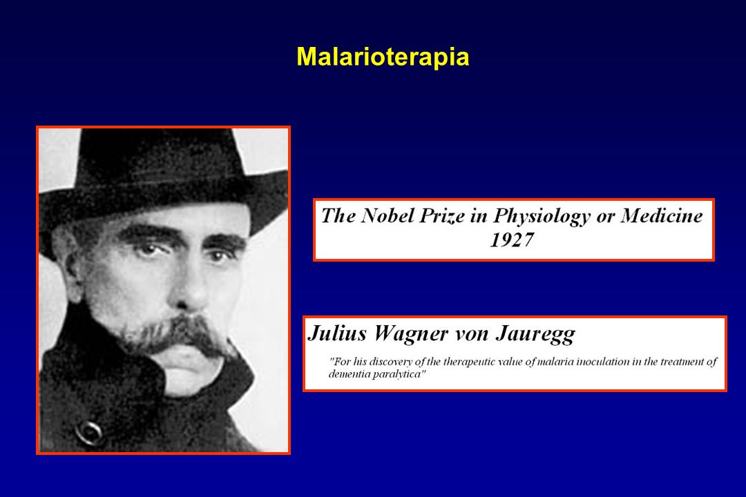 Malarioterapia