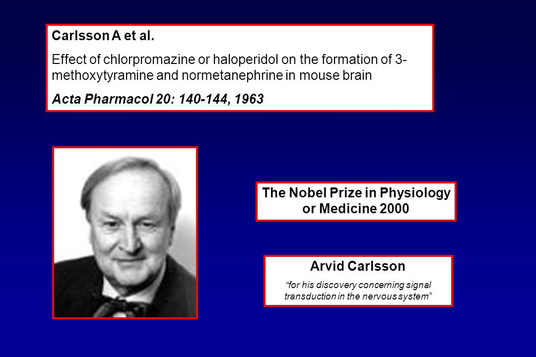 The Nobel Prize in Physiology or Medicine 2000