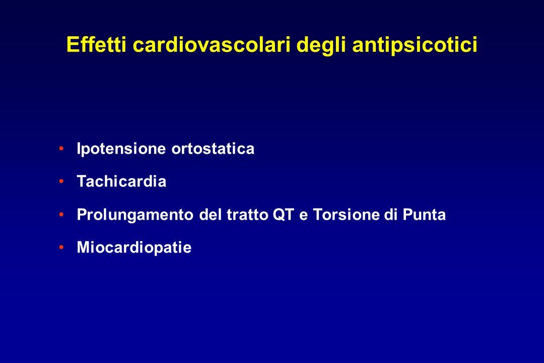 Effetti cardiovascolari degli antipsicotici