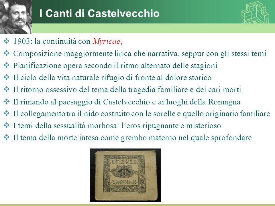 I Canti di Castelvecchio