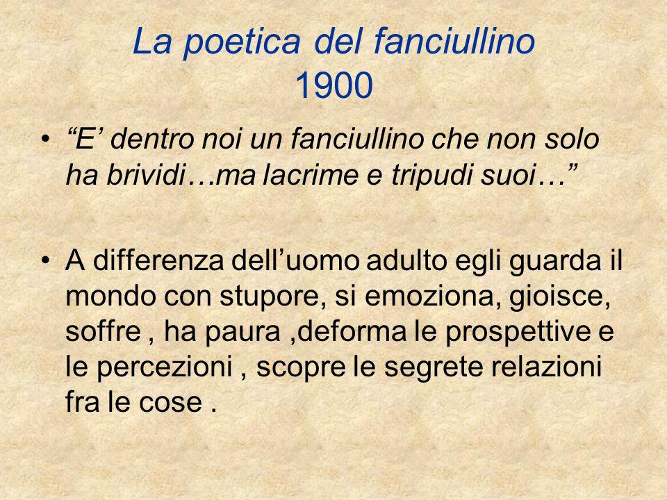 La poetica del fanciullino 1900