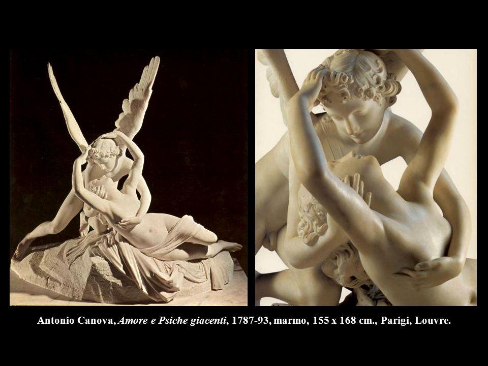 Antonio Canova, Amore e Psiche giacenti, 1787-93, marmo, 155 x 168 cm