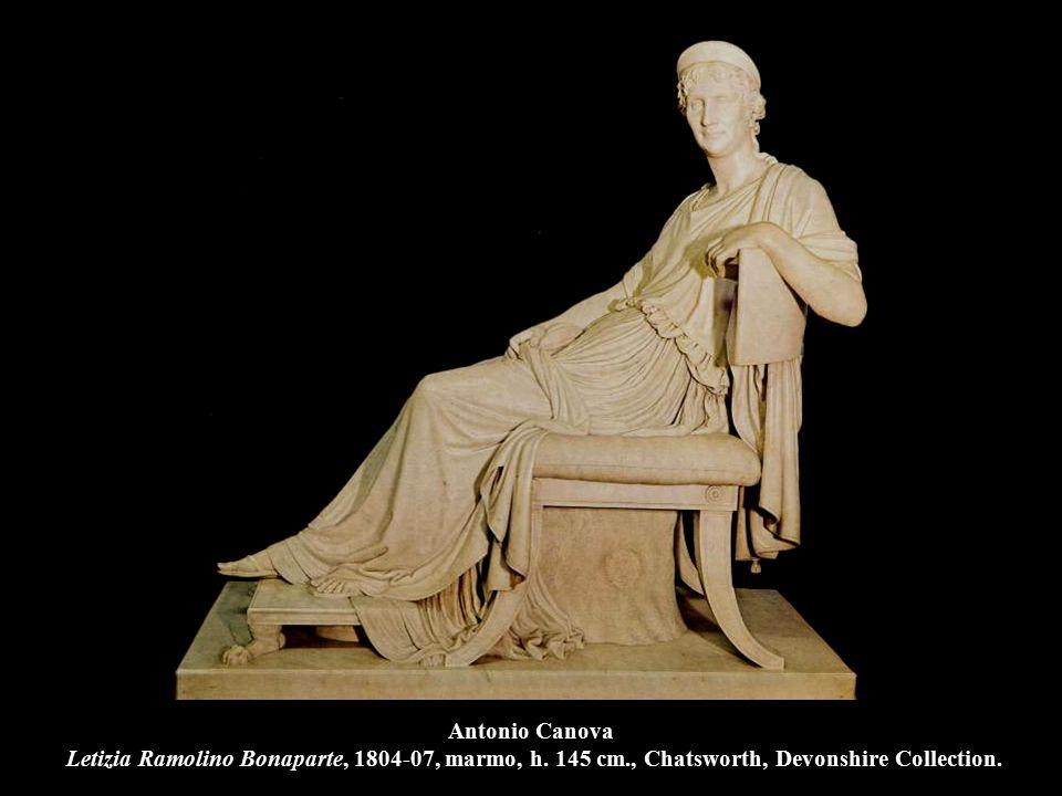 Antonio Canova Letizia Ramolino Bonaparte, 1804-07, marmo, h. 145 cm