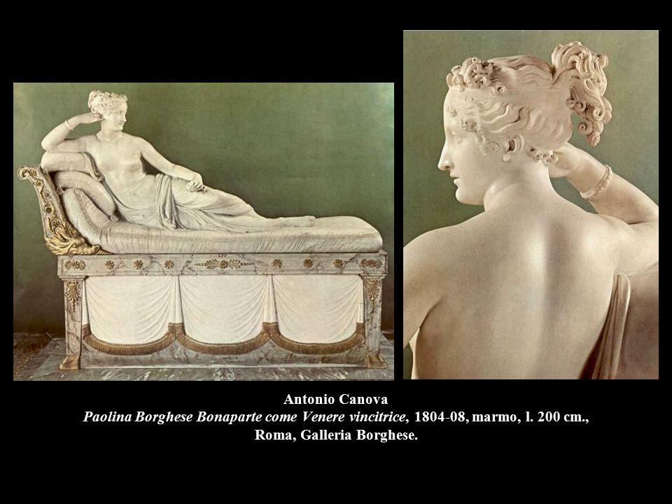 Antonio Canova Paolina Borghese Bonaparte come Venere vincitrice, 1804-08, marmo, l.