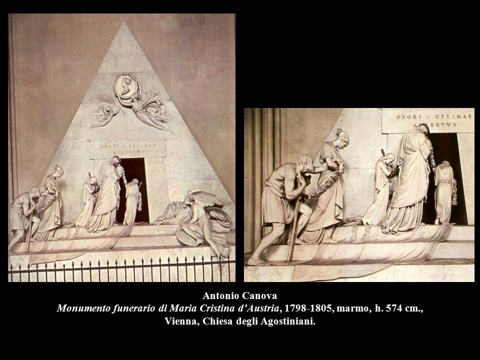 Antonio Canova Monumento funerario di Maria Cristina d'Austria, 1798-1805, marmo, h.