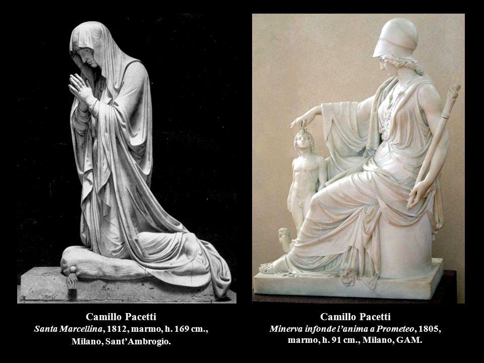 Camillo Pacetti Santa Marcellina, 1812, marmo, h. 169 cm
