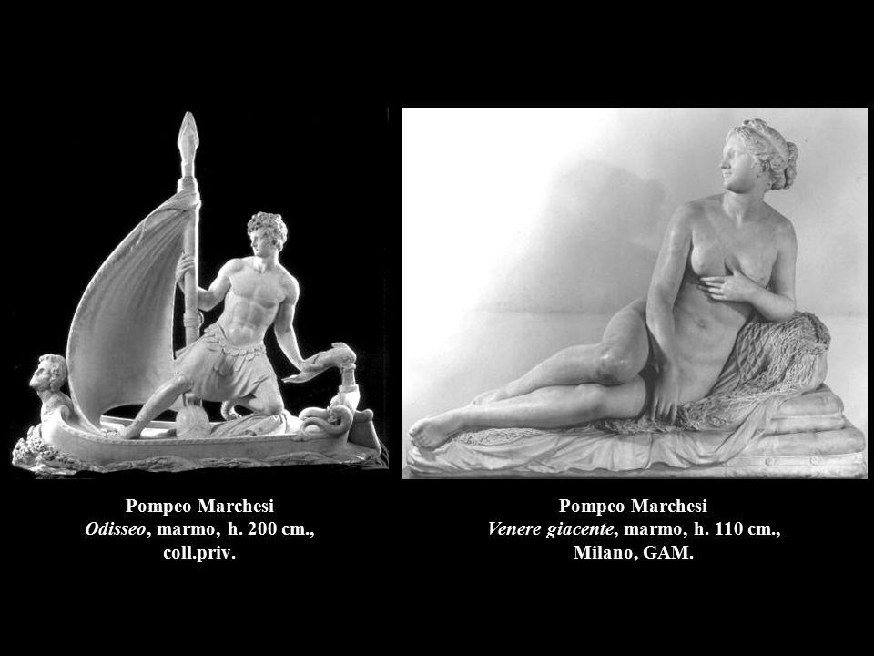 Pompeo Marchesi Odisseo, marmo, h. 200 cm., coll.priv.