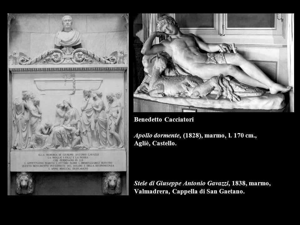 Benedetto Cacciatori Apollo dormente, (1828), marmo, l. 170 cm