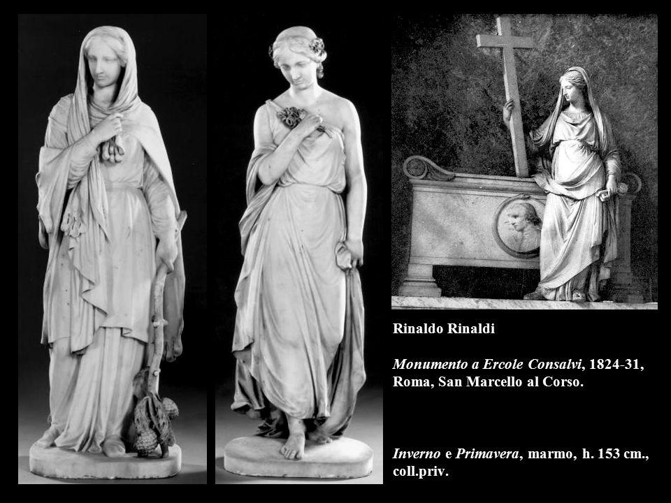 Rinaldo Rinaldi Monumento a Ercole Consalvi, 1824-31, Roma, San Marcello al Corso.
