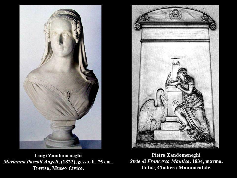 Luigi Zandomeneghi Marianna Pascoli Angeli, (1822), gesso, h. 75 cm
