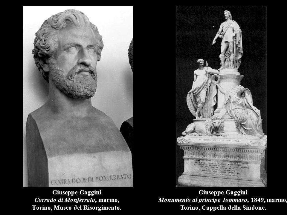 Giuseppe Gaggini Corrado di Monferrato, marmo, Torino, Museo del Risorgimento.