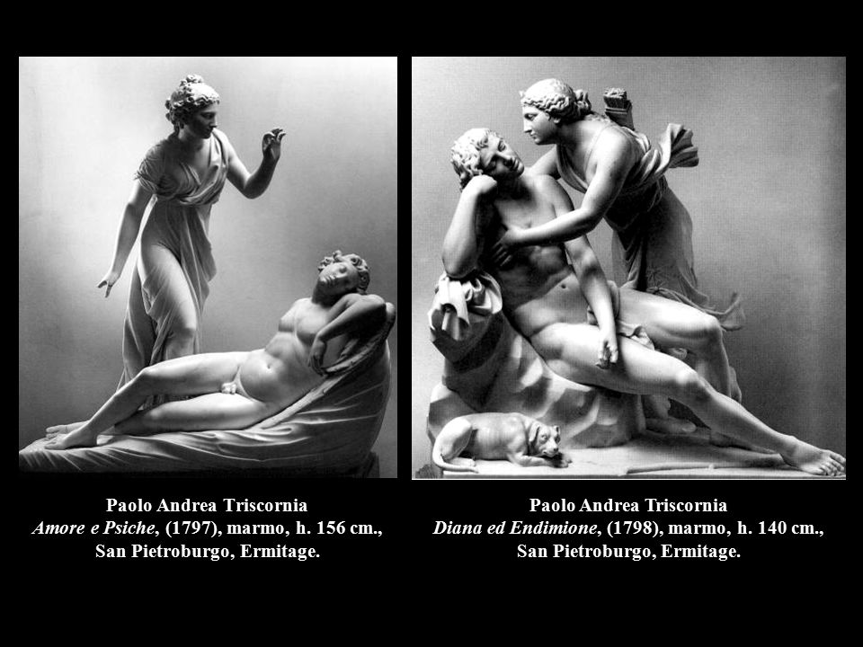 Paolo Andrea Triscornia Amore e Psiche, (1797), marmo, h. 156 cm