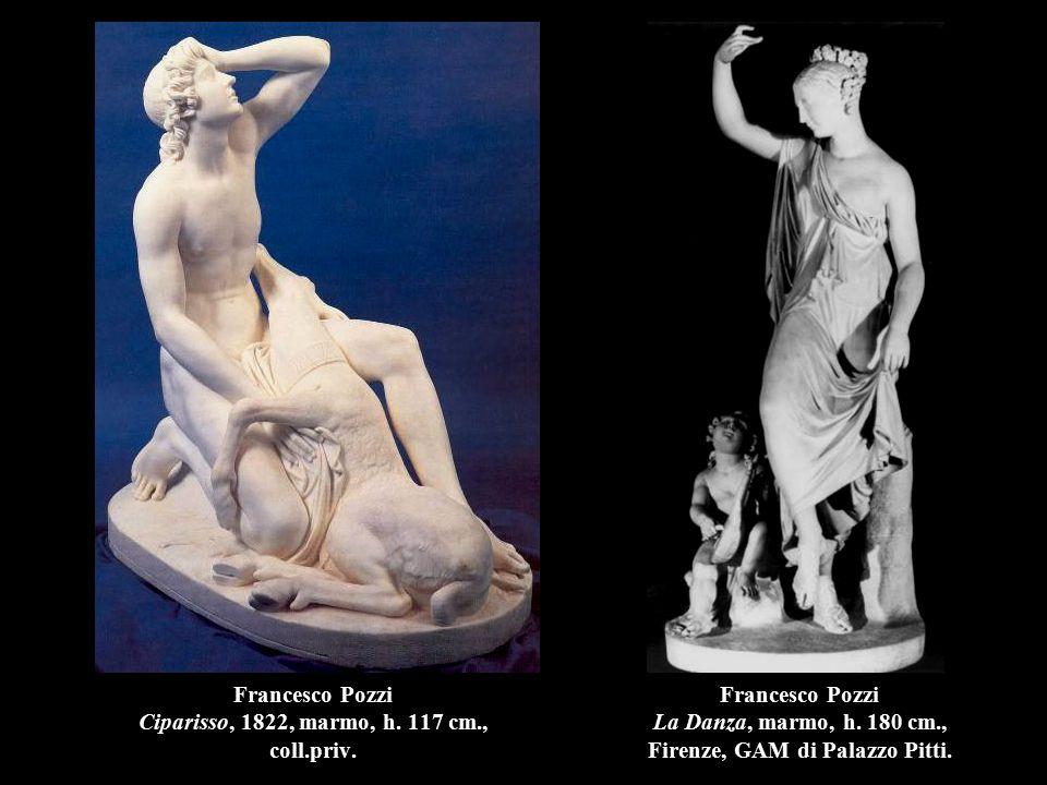 Francesco Pozzi Ciparisso, 1822, marmo, h. 117 cm., coll.priv.