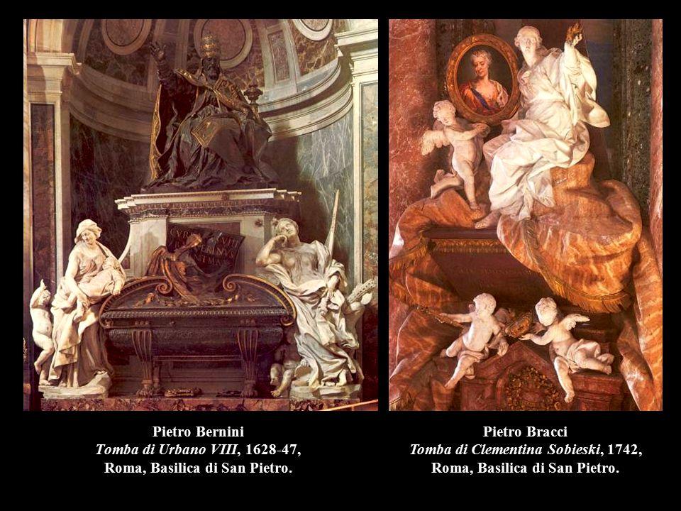 Pietro Bernini Tomba di Urbano VIII, 1628-47, Roma, Basilica di San Pietro.