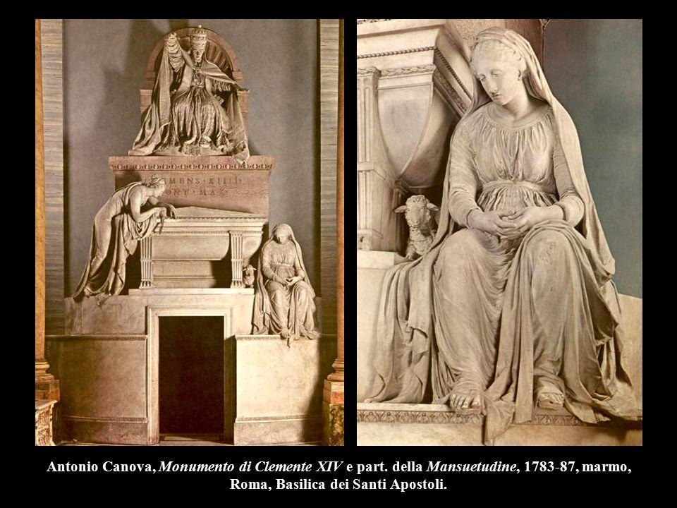Antonio Canova, Monumento di Clemente XIV e part