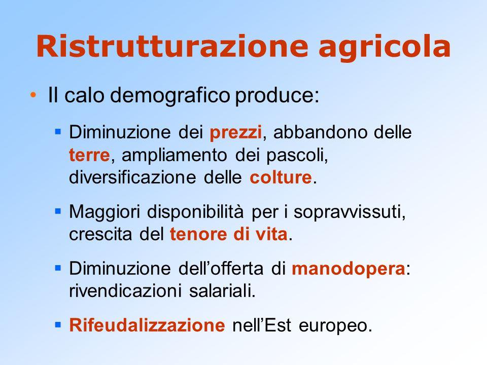 Ristrutturazione agricola
