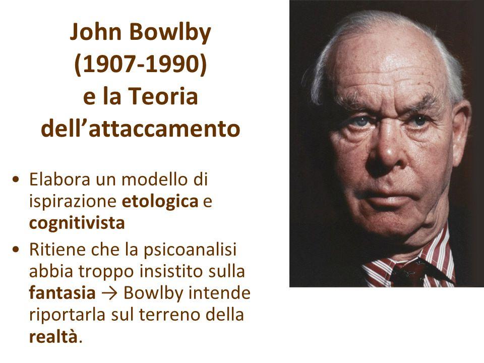 John Bowlby (1907-1990) e la Teoria dell'attaccamento