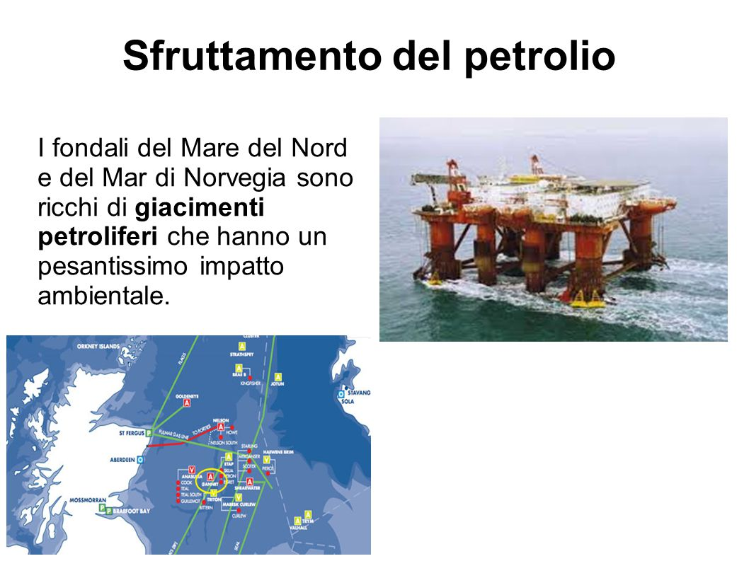 Sfruttamento del petrolio