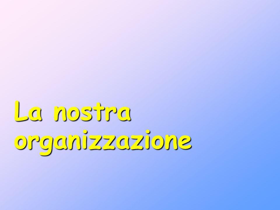 La nostra organizzazione