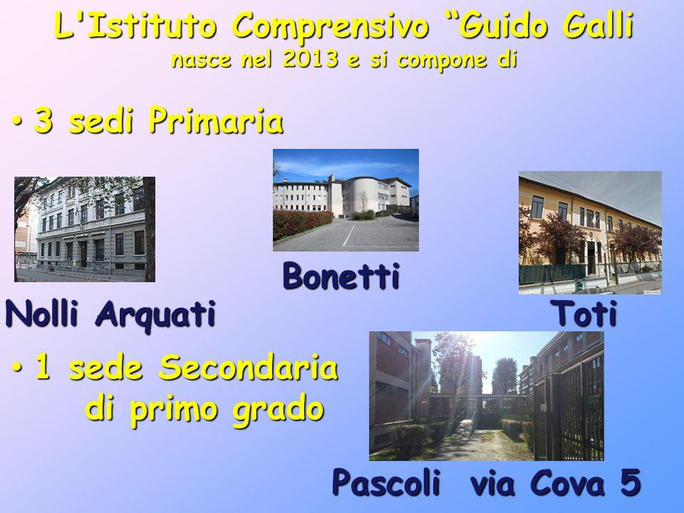 L Istituto Comprensivo Guido Galli nasce nel 2013 e si compone di