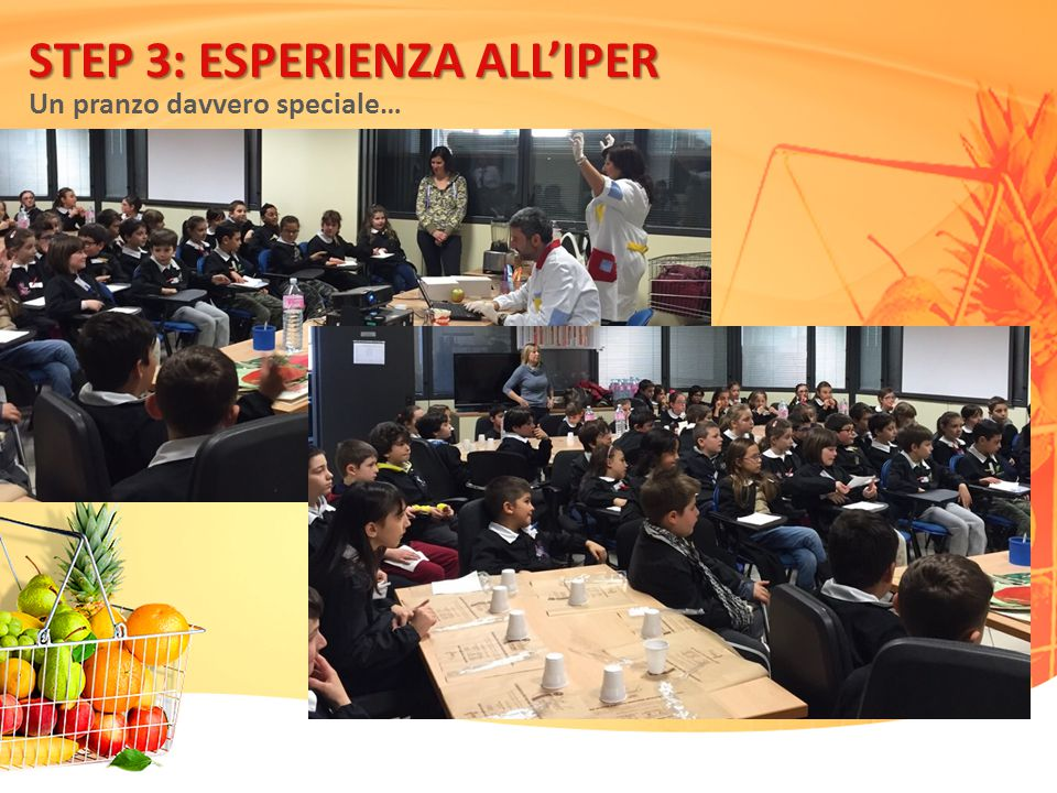 STEP 3: ESPERIENZA ALL'IPER