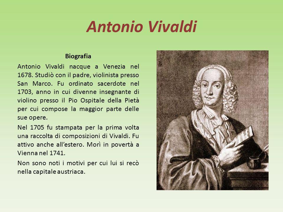 Antonio Vivaldi Biografia