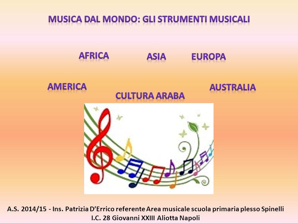 MUSICA DAL MONDO: GLI STRUMENTI MUSICALI
