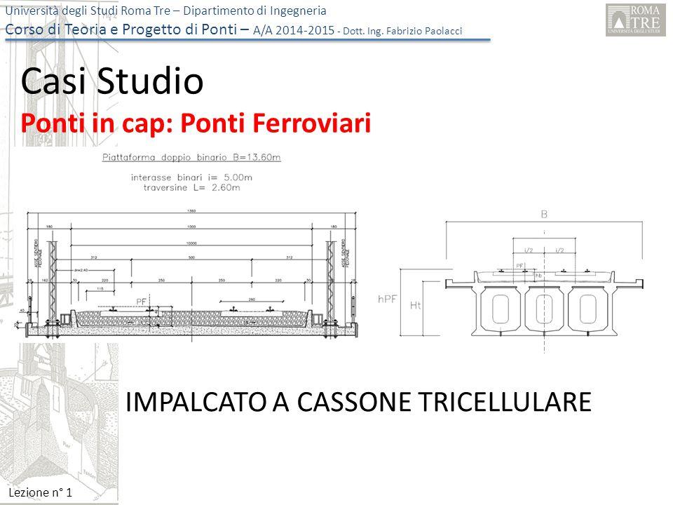 Casi Studio Ponti in cap: Ponti Ferroviari