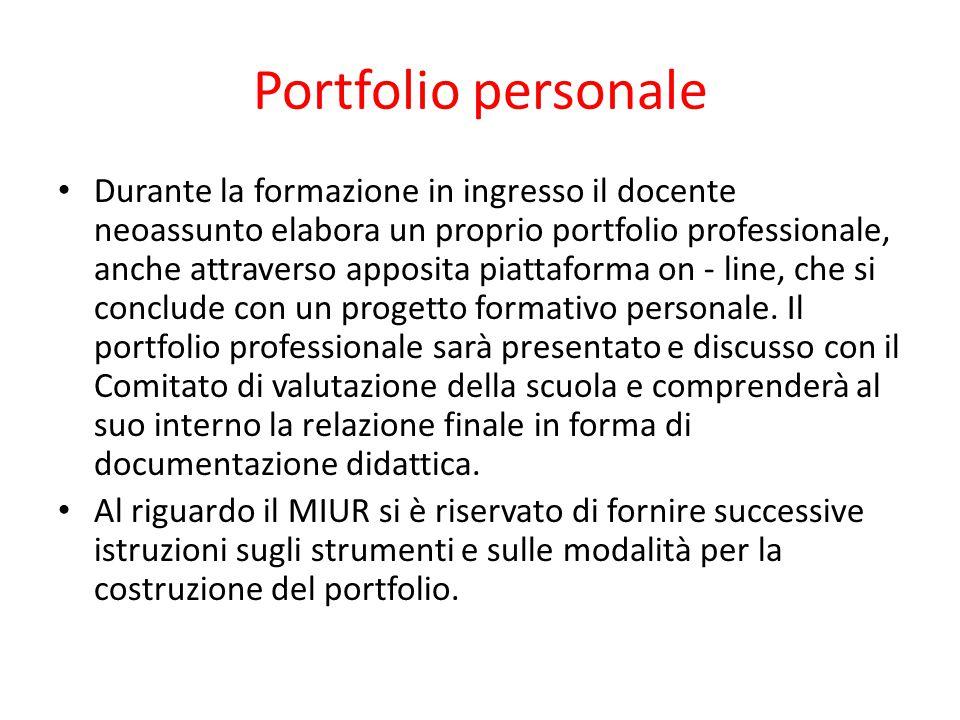 Portfolio personale