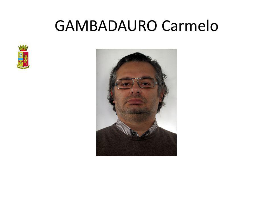 GAMBADAURO Carmelo
