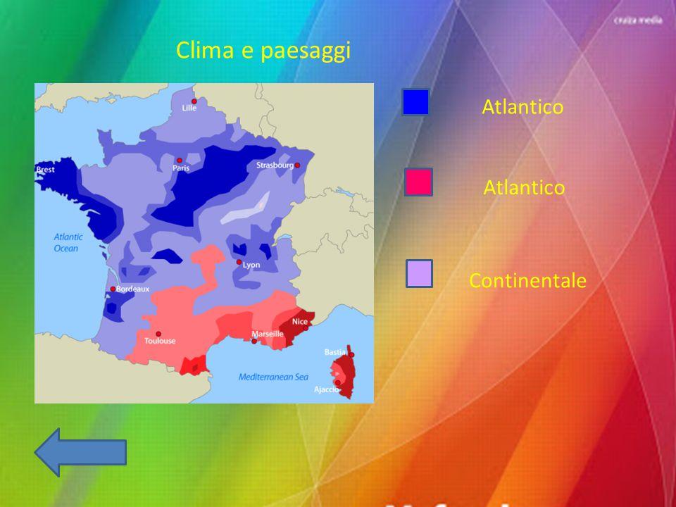 Clima e paesaggi Atlantico Atlantico Continentale