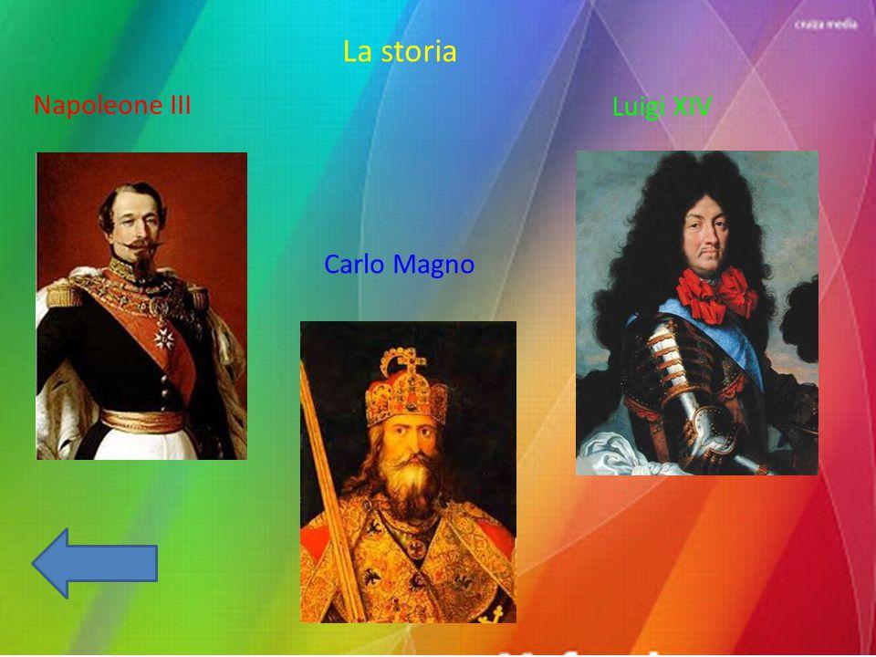 La storia Napoleone III Luigi XIV Carlo Magno