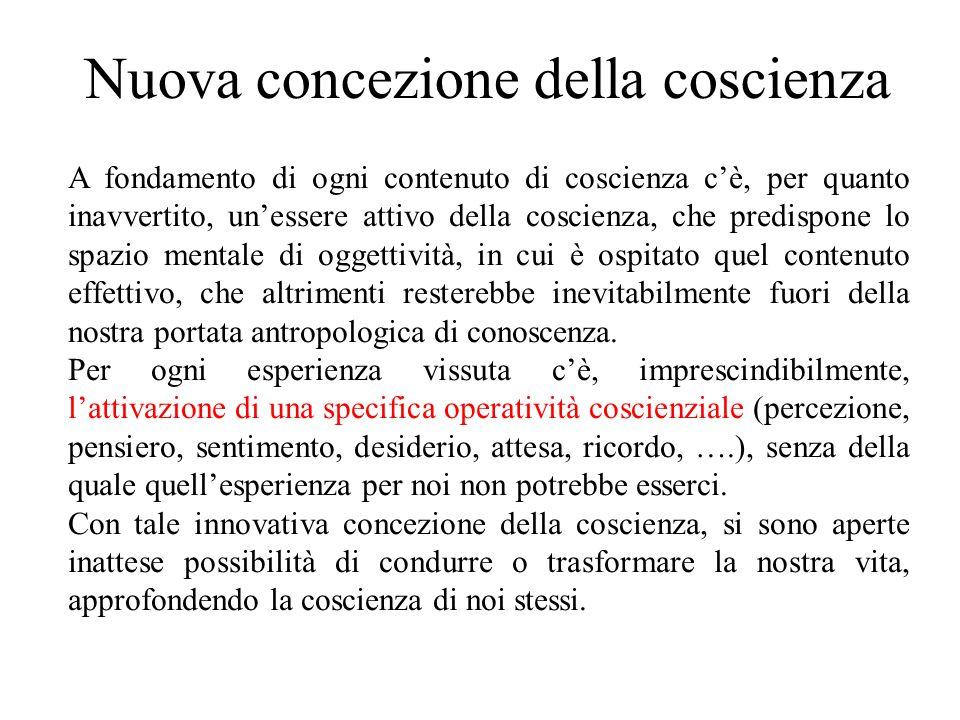 Nuova concezione della coscienza