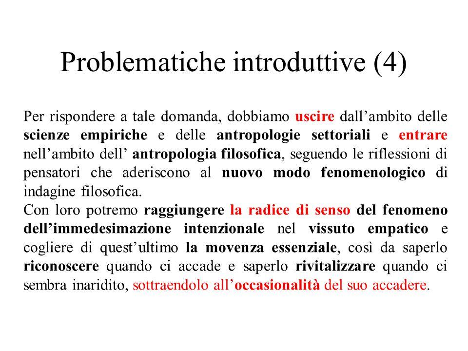 Problematiche introduttive (4)