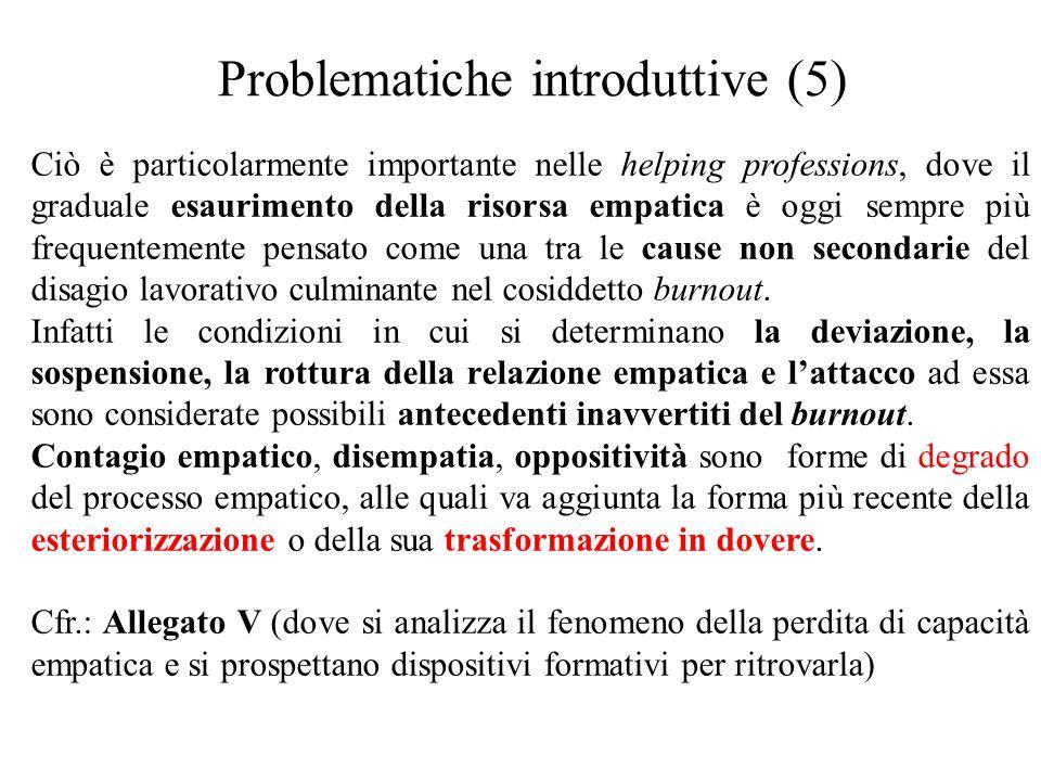 Problematiche introduttive (5)