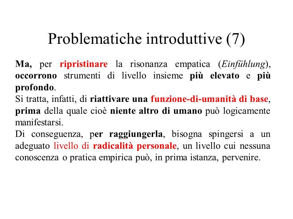 Problematiche introduttive (7)