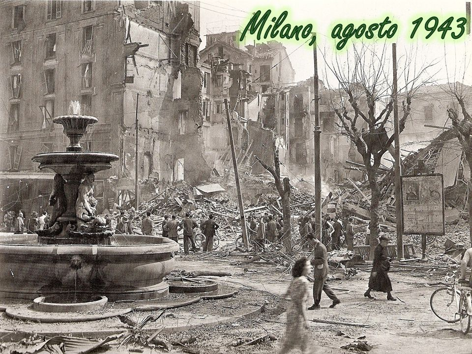 Milano, agosto 1943