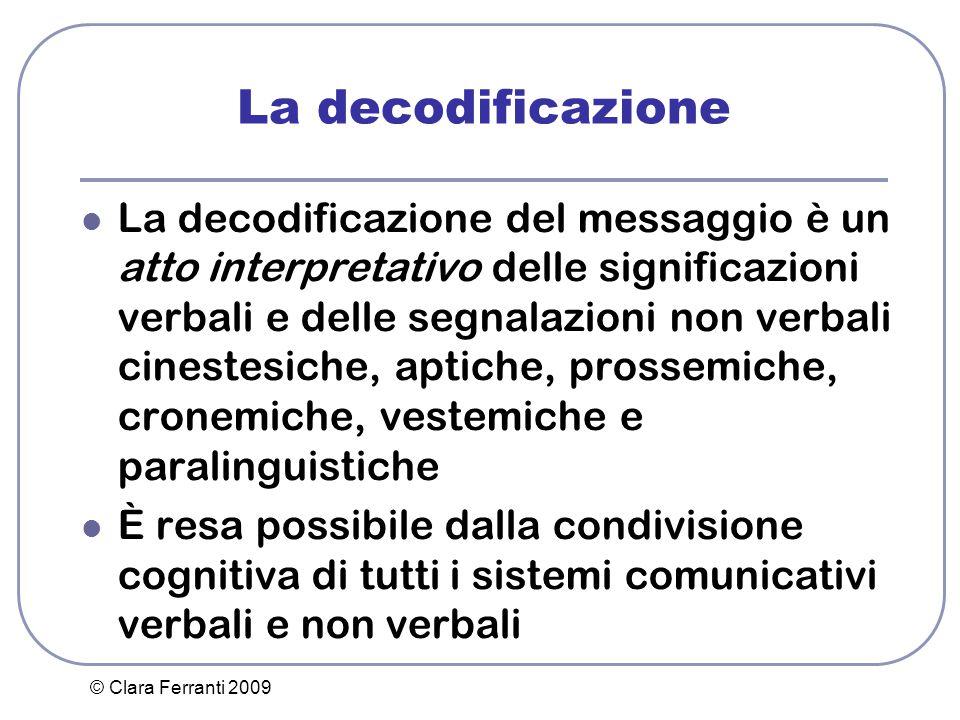 La decodificazione