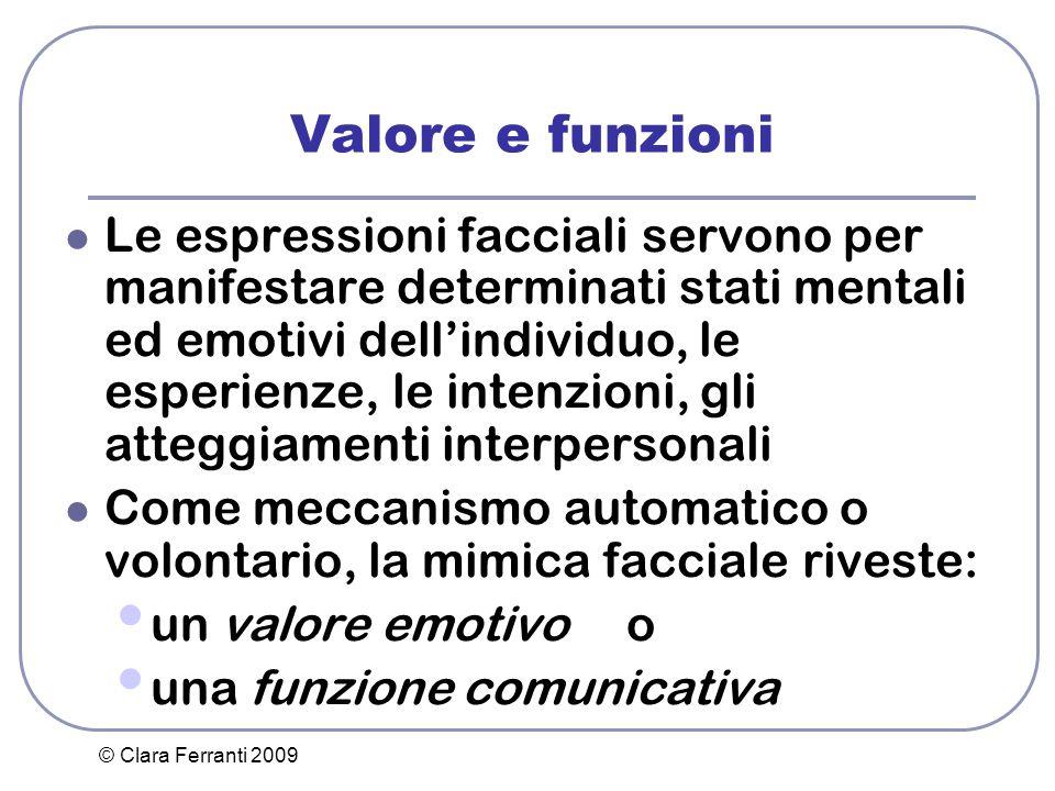 Valore e funzioni